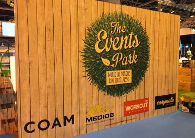 STAND    THE EVENTS PARK